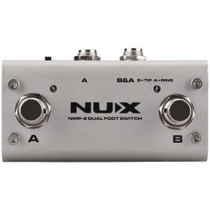 Nux NMP-2 Dual Footswitch Pedalı